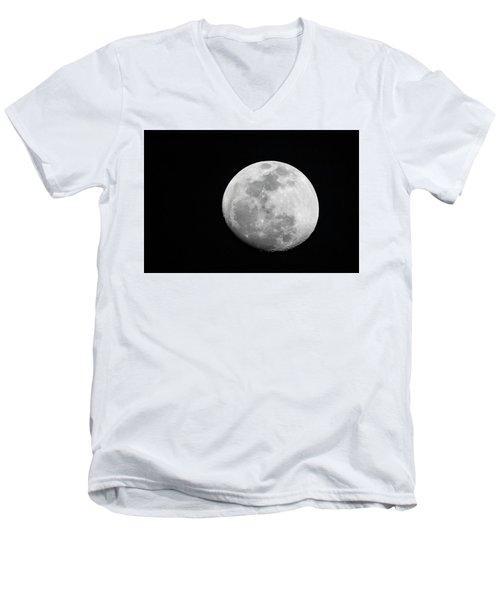 Waxing Gibbous Men's V-Neck T-Shirt