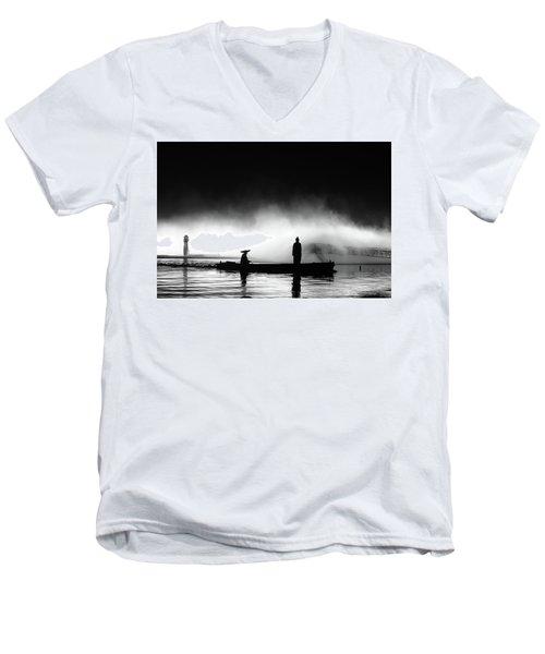 West Lake Men's V-Neck T-Shirt