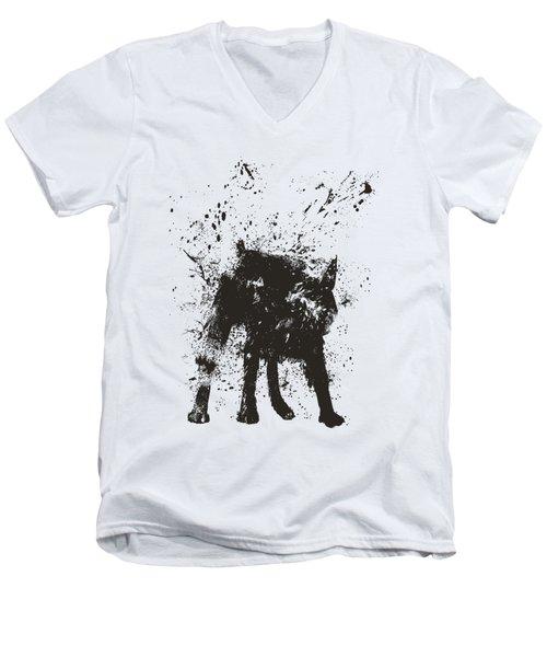 Wet Dog Men's V-Neck T-Shirt