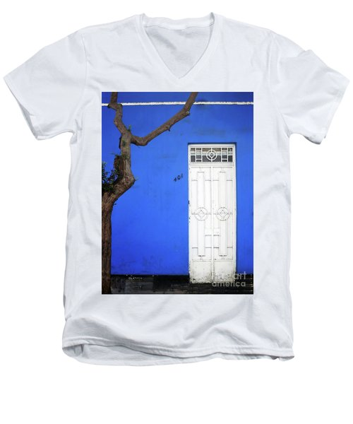 When A Tree Comes Knocking Men's V-Neck T-Shirt