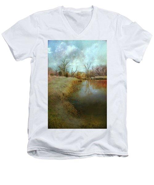 Where Poets Dream Men's V-Neck T-Shirt