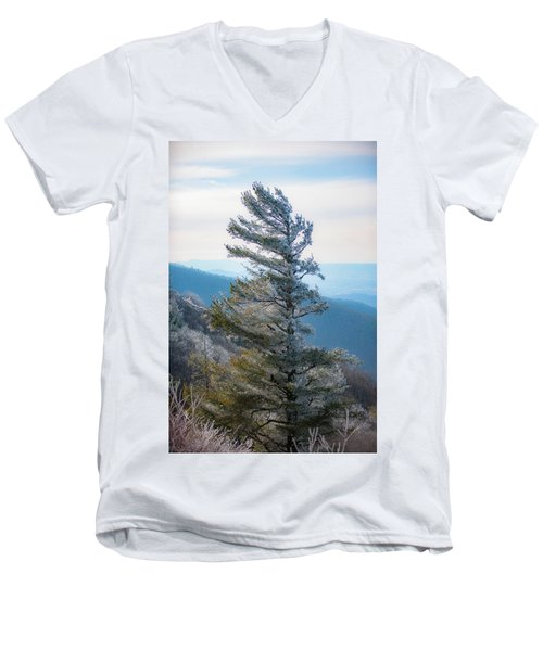 Wind Shaped Men's V-Neck T-Shirt