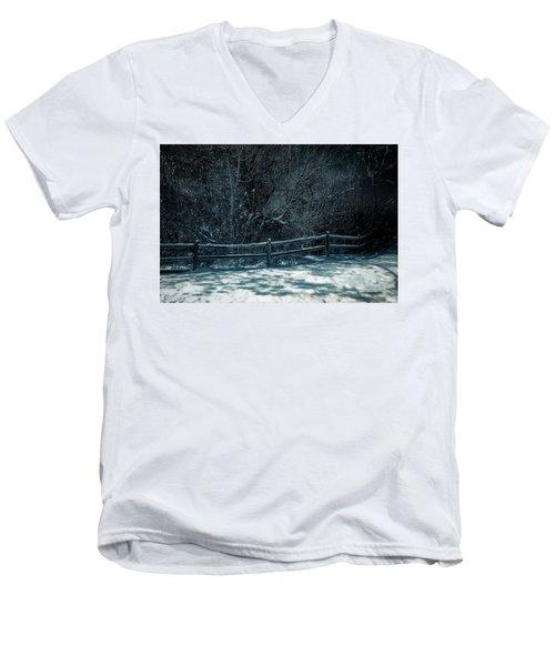 Winter Arrived Men's V-Neck T-Shirt