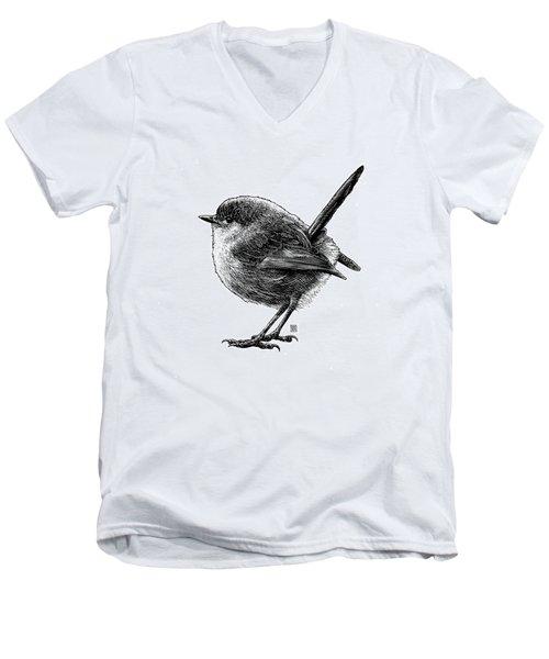 Wren Men's V-Neck T-Shirt