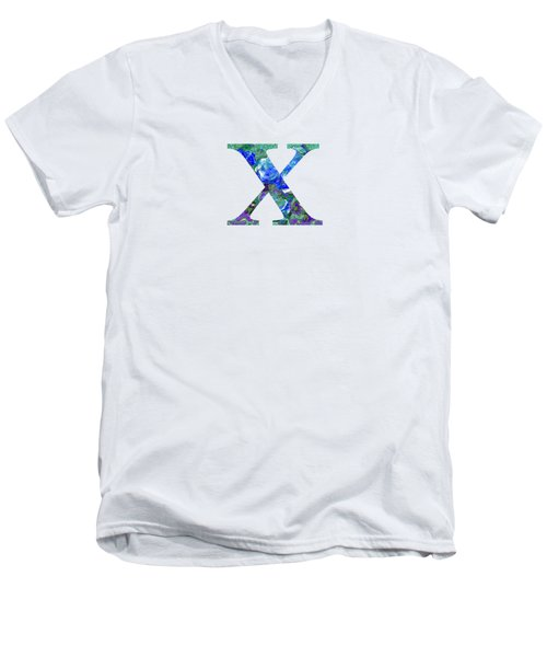 X 2019 Collection Men's V-Neck T-Shirt