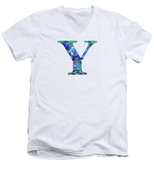 Y 2019 Collection Men's V-Neck T-Shirt