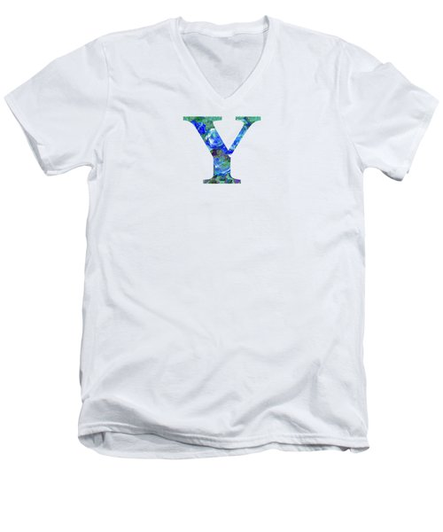 Y 2019 Collection Men's V-Neck T-Shirt