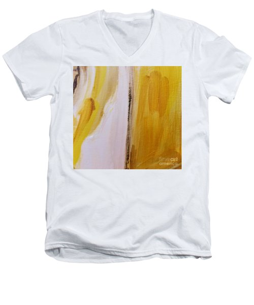 Yellow #5 Men's V-Neck T-Shirt