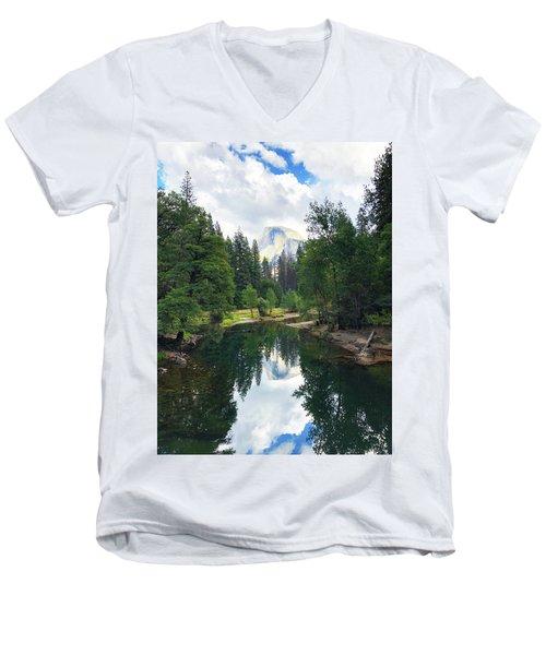 Yosemite Classical View Men's V-Neck T-Shirt
