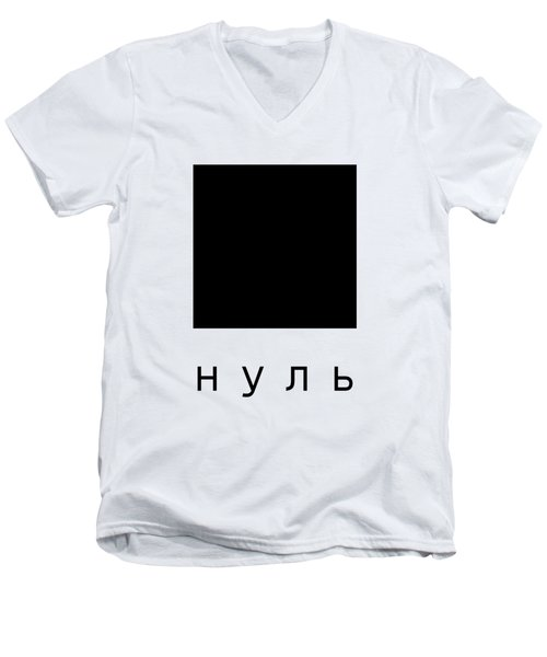 Zero Men's V-Neck T-Shirt