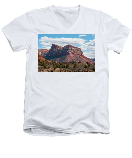 Zion Men's V-Neck T-Shirt