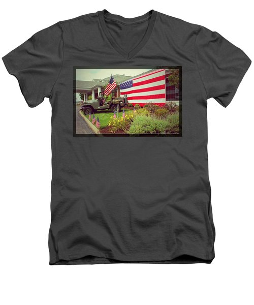 Some Gave All Men's V-Neck T-Shirt