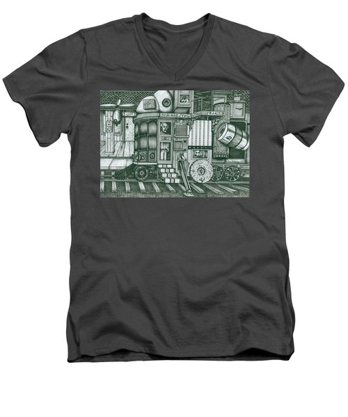 A Traveling Cabinets Of Curiosities Men's V-Neck T-Shirt