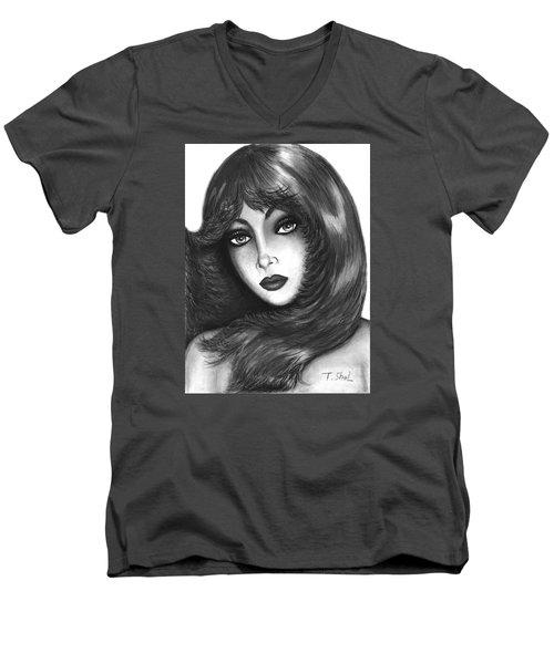 Alluring  Men's V-Neck T-Shirt