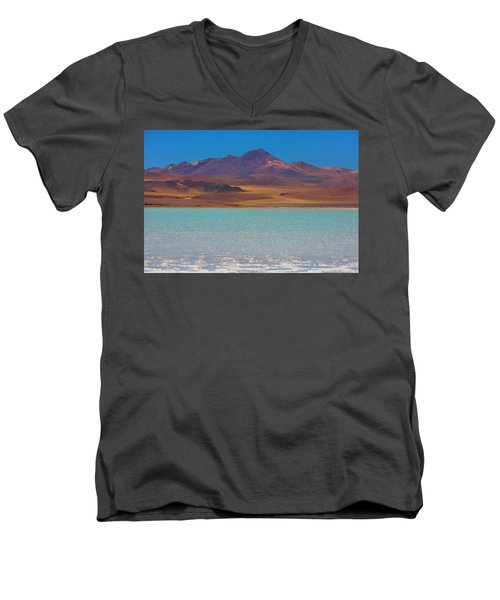Atacama Salt Lake Men's V-Neck T-Shirt