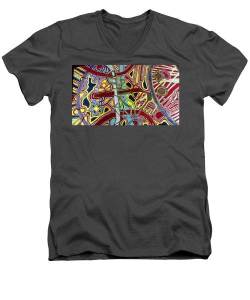 Edge Of The Universe Men's V-Neck T-Shirt