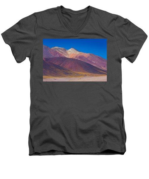 Painted Atacama Men's V-Neck T-Shirt