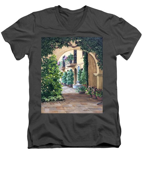 Sedona Archway Men's V-Neck T-Shirt