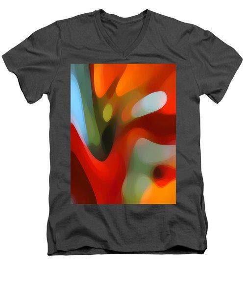 Tree Light 2 Men's V-Neck T-Shirt