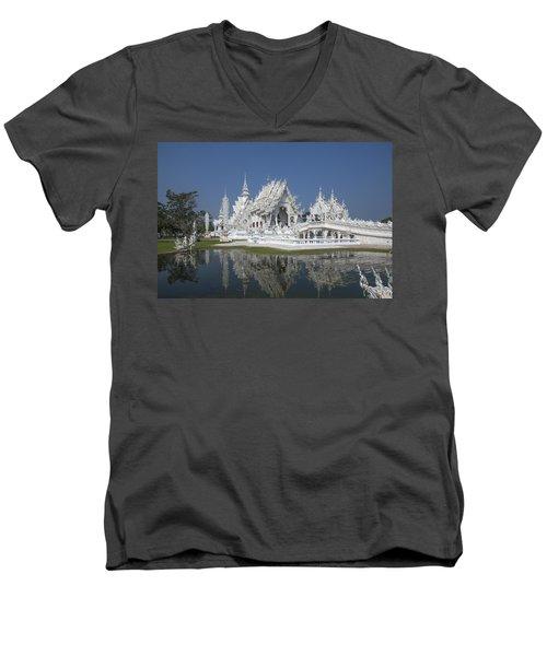 Wat Rong Khun Ubosot Dthcr0002 Men's V-Neck T-Shirt