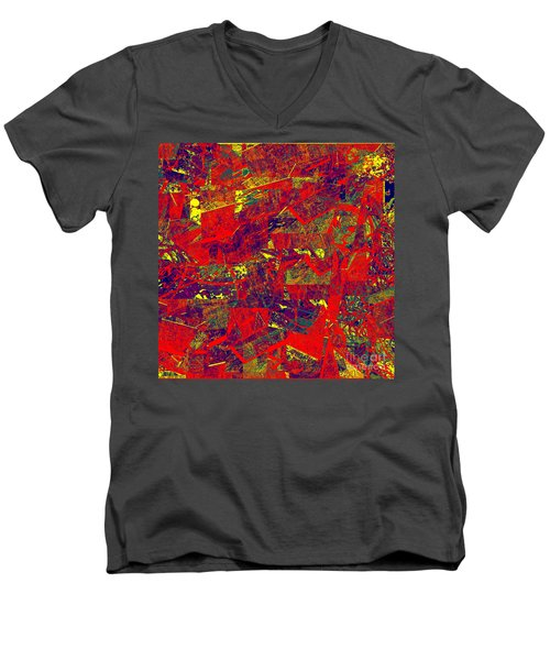 0384 Abstract Thought Men's V-Neck T-Shirt