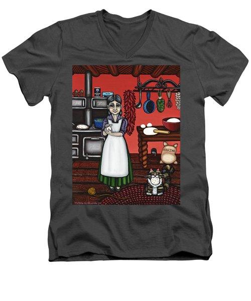 Abuelita Or Grandma Men's V-Neck T-Shirt