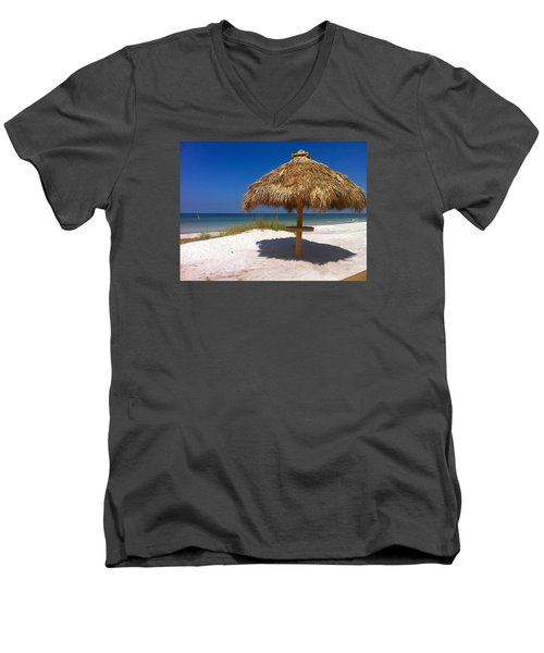 Anna Maria Island Men's V-Neck T-Shirt