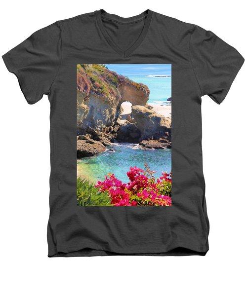 Arch Rock Laguna Men's V-Neck T-Shirt