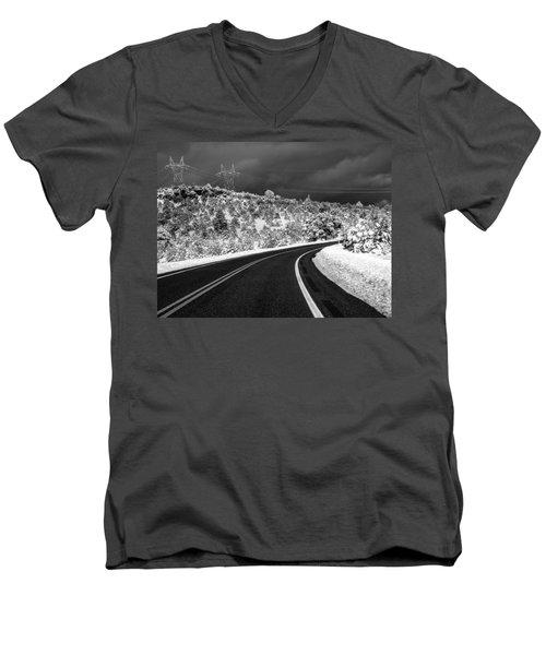 Arizona Snow 2 Men's V-Neck T-Shirt