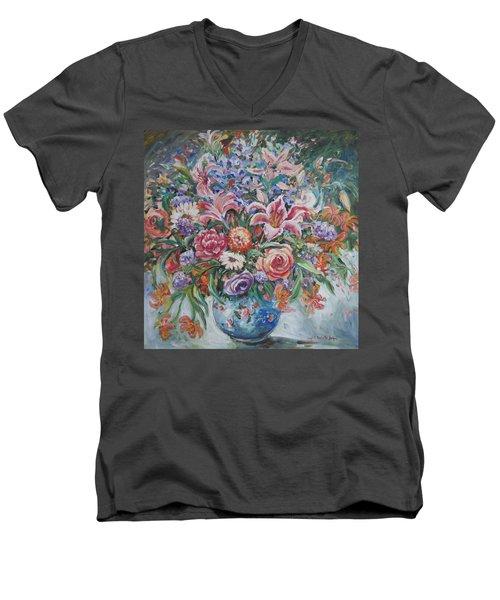 Arrangement II Men's V-Neck T-Shirt