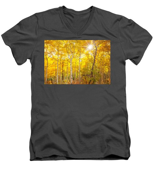 Aspen Morning Men's V-Neck T-Shirt