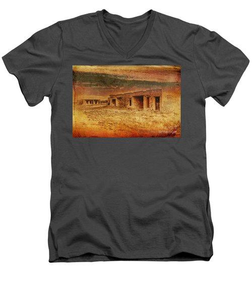 Back In The Day Men's V-Neck T-Shirt