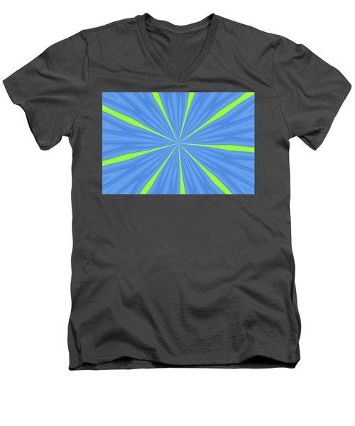 Men's V-Neck T-Shirt featuring the photograph Balloon Fantasy 2 by Allen Beatty