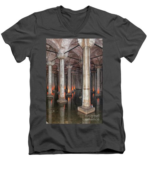 Basilica Cistern 02 Men's V-Neck T-Shirt