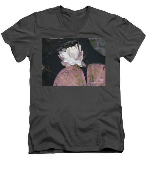 Men's V-Neck T-Shirt featuring the photograph Beautiful Girl by Michael Krek