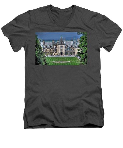 Biltmore House Men's V-Neck T-Shirt