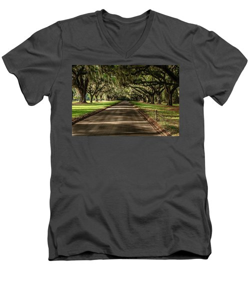 Boone Plantation Road Men's V-Neck T-Shirt