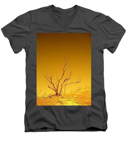 Burnt Bush Men's V-Neck T-Shirt