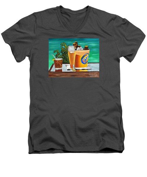 Caribbean Beer Men's V-Neck T-Shirt