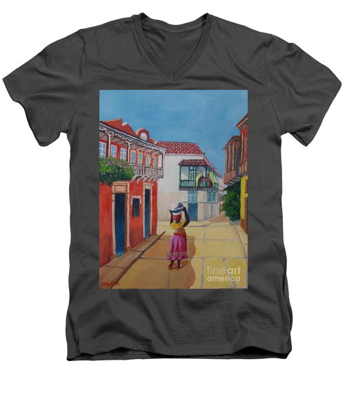 Cartagena Seller Men's V-Neck T-Shirt