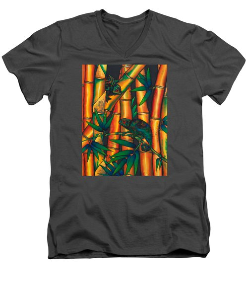Chameleon Men's V-Neck T-Shirt
