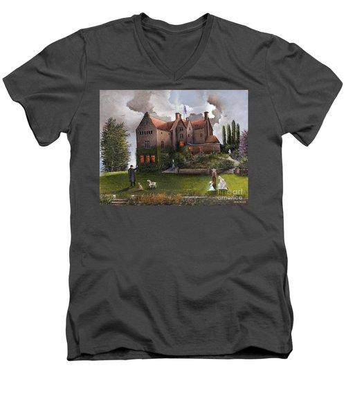 Chartwell Men's V-Neck T-Shirt