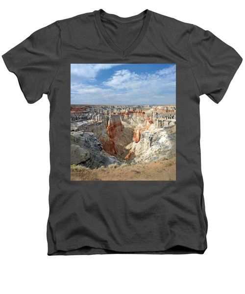 Coal Mine Mesa 14 Men's V-Neck T-Shirt