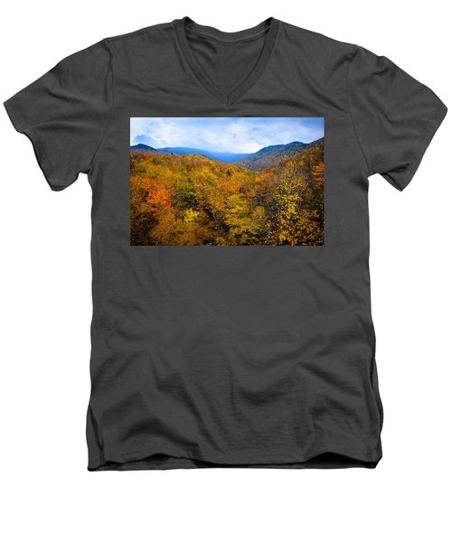 Colors Of Nature Men's V-Neck T-Shirt