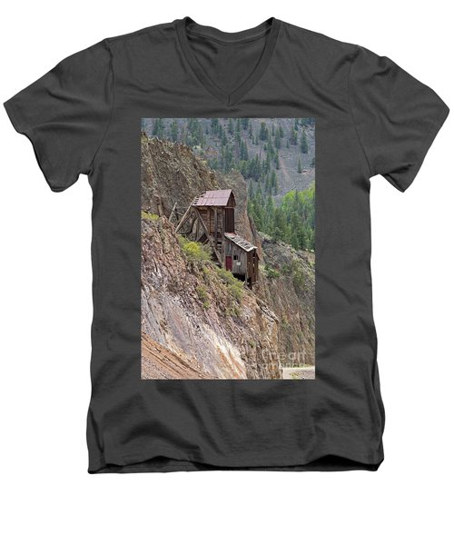 Commodore Mine On The Bachelor Historic Tour Men's V-Neck T-Shirt