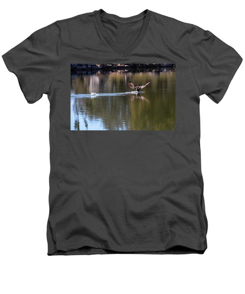 Cormorant Landing Men's V-Neck T-Shirt