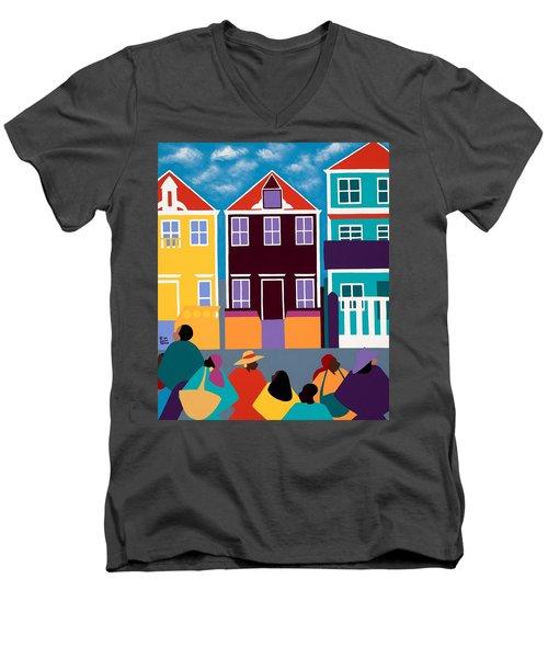 Curacao Dreams Men's V-Neck T-Shirt