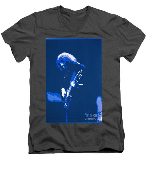 Dark Star  Men's V-Neck T-Shirt by Susan Carella