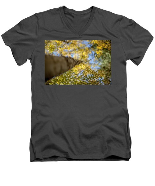 Men's V-Neck T-Shirt featuring the photograph Daydreaming by Aaron Aldrich