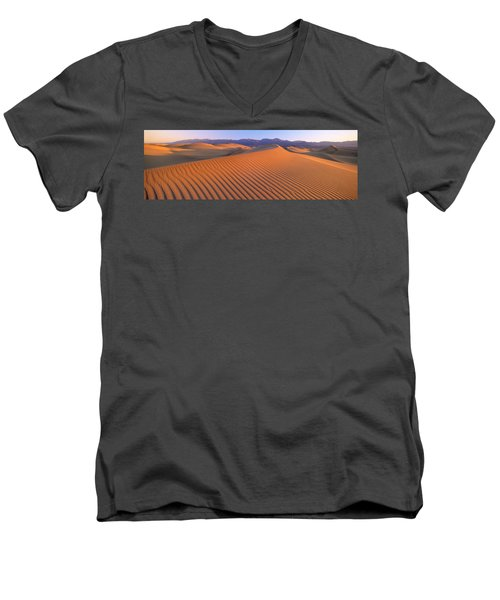 Death Valley National Park, California Men's V-Neck T-Shirt